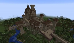 Huge Castle / Große Burg Minecraft Map & Project