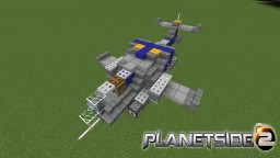 New Conglomerate Reaver - PlanetSide 2 Minecraft Map & Project