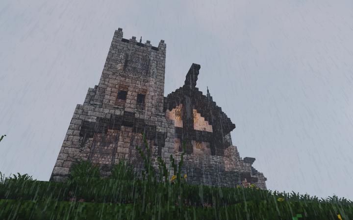 The big square tower, pretty bad photo tbh...