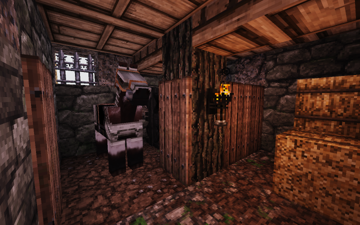 The considerably small stables. Would've worked if there was only one warrior living here