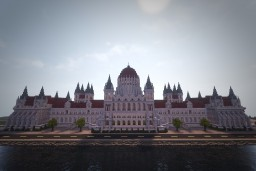 Hungarian Parliament (Conquest Reforged) Minecraft Map & Project