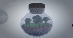 Small Plain in a Glass Bottle Minecraft Map & Project