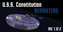 Star Trek U.S.S. Constitution Remastered For 1.12.2 Minecraft Map & Project