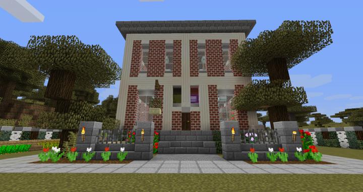 minecraft survival house maps download