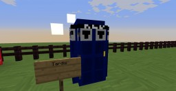 Doctor Who Texture map Minecraft Map & Project