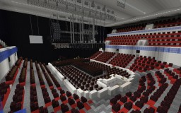 Concert Arena (Redstone Working) Minecraft Map & Project