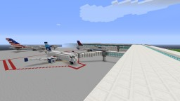 Airports and planes Minecraft