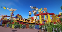 Toy Story Land in Minecraft (1:1 Scale) Minecraft Map & Project