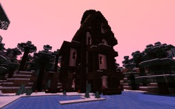Survival Tudor House Minecraft Map & Project