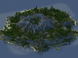 Isle of Sentar - Tropical Crater Island Minecraft