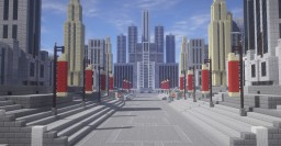 Futuristic Capital City (Hunger Games Inspired) Minecraft