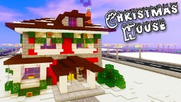 How to Build a Christmas House in Minecraft - 2017 Edition - Tutorial Minecraft Blog Post