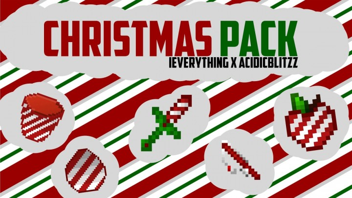 Popular Texture Pack : CHRISTMAS 32x PACK - iEverything