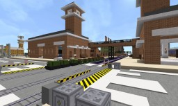 Small Railway Minecraft Map & Project