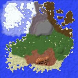 Custom Terrain Fantasy Island Map Minecraft Map & Project