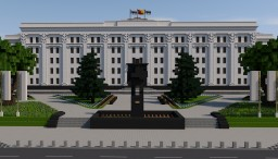 City of the USSR |  Svyatoslavl city Minecraft
