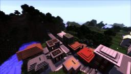 Minecraft City Building Guide - Roads, Sidewalks, and Bridges Minecraft Blog