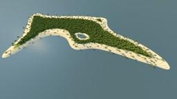 Dense Tropics - Small natural island terrain map Minecraft Map & Project