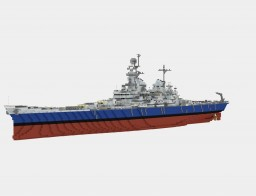 USS Missouri (BB-63) Minecraft Map & Project