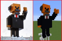 Statue of Lenin - Scale 1-1 Minecraft
