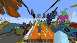 Ponies And Parkour Minecraft Map & Project