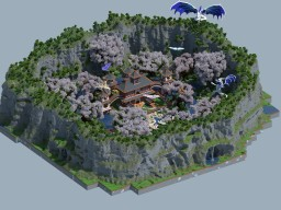 New Temple Of Dragon Minecraft Map & Project