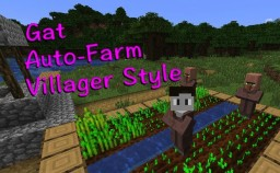 Auto-Farming DataPack v1.01 Minecraft Data Pack