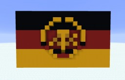 East Germany Flag Minecraft Map & Project