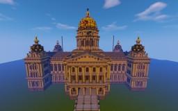 Iowa State Capitol Building replica Minecraft Map & Project