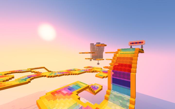 GBA Rainbow Road