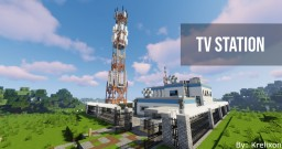 Tv Station |Download| Minecraft Map & Project