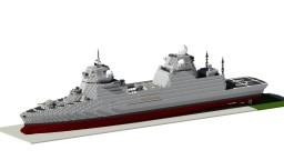 FFI -Damen news Omega frigate design Minecraft Map & Project