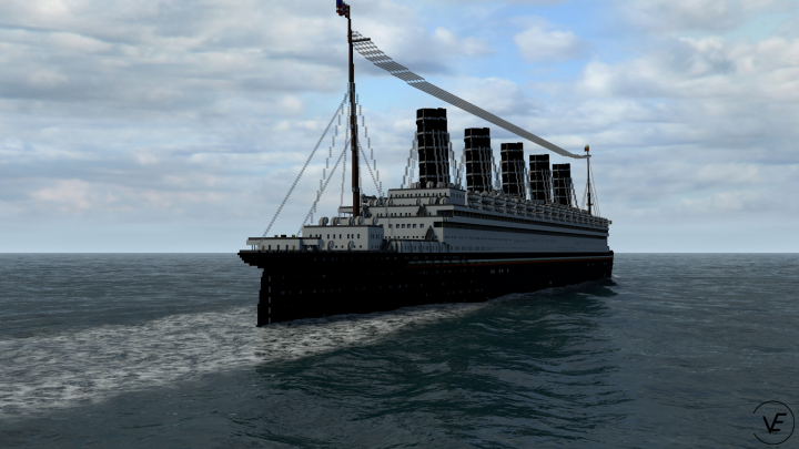 Sailing off...