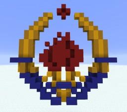 Yugoslavia Emblem Minecraft Map & Project