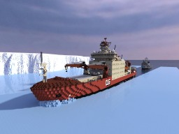 Aker ARC 133 Antarctic Logistics Vessel Minecraft Map & Project