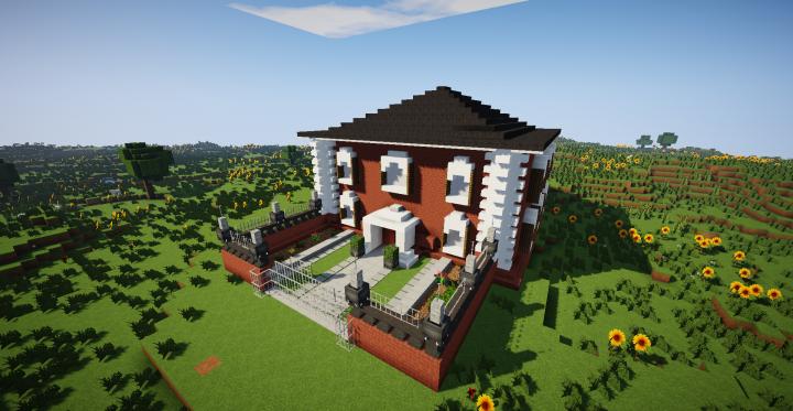 Maison Traditionnelle Minecraft Map