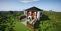 maison traditionnelle Minecraft Map & Project