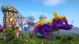 Spyro the Dragon Minecraft Map & Project