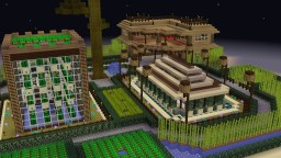 Oh my Farm! w/ House Minecraft Map & Project