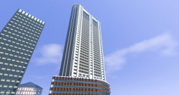 Tokyo dome Hotel Minecraft Map & Project