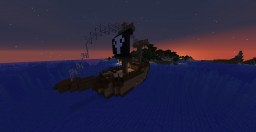 Pirate Ship - 2 Building in the Incredible World of Ignacio - Snapshot 1.14 Minecraft Map & Project