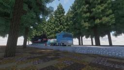 Mercedes-Benz truck : Actros MP3 Minecraft