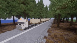 Volvo truck : FH 540 [Train road] Minecraft Map & Project