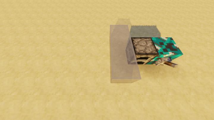 Block Beamer sends blocks through walls