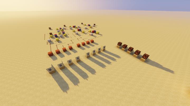 Complex redstone contraptions