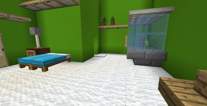 Best Modern Survival House Minecraft Map