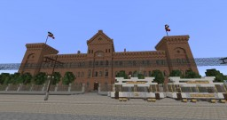Military Hospital Altona, Imperial Germany 1900 | Militär-Lazarett Altona Minecraft Map & Project