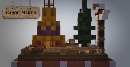 Canoe Maker Minecraft Map & Project