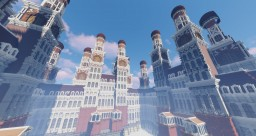 Sky Palace - Inspired by Bioshock Minecraft Map & Project