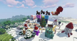 Husscraft Shopping District Christmas Decorations Minecraft Map & Project